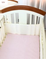 Wholesale car New Baby Breathable Mesh Crib Bumper Baby Bedding Crib Liner Baby Bedding Bumpers Bed Around Baby Cot Sets