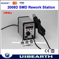 Cheap 650W YIHUA 2008D Temperature Adjustable SMD Rework Station, Hot-Air Desoldering Station