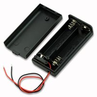 Wholesale Black AA Battery Holder Box Case With Switch EE4069