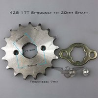 atv chinese parts - High Performance Chinese Motorcycle ATV Dirtbike Front Sprocket T mm Size Teeth Drop Shipping
