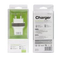 Cheap Wall charger US EU Plug Brand New MaxPhone Dual 2 Port Micro USB Universal Socket DC 5.0V 2.4A For Mobile Cell Phone