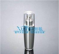 Screw Cap acrylic spray bottle - FD ml Silver conical Acrylic bottle Lotion Bottle or mist spray bottle cosmetic container Cosmetic bottle Cosmetic Packaging