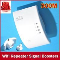Wholesale Hot Wireless Wifi Repeater N B G Network Wifi Router Expander W ifi Antenna Wi fi Roteador Signal Amplifier Repetidor Wifi order lt no