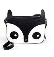 Wholesale Hot Womens Stylish Owl Fox School Tote Handbag Retro Hobo Shoulder Bag Messenger Handbags dropship