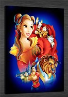 beauty beast pictures - HD Canvas Print home decor wall art painting Picture NO stretch Beauty and the Beast x36