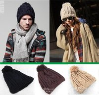 average winter hat - Hot winter Wool Knitted Cap Men s BEANIES Knitted Hat GORRO Acrylic Colors Average Size BONNET