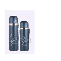 Wholesale 500ml ml vacuum flask stainless steel vauum flask children thermo flask office mug travel mug Item no GL VFZDT