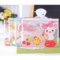 az supply - Stationery supplies AZ cute multifunction edge paper transparent zip file bag storage pouch A5 mm pc Oulm