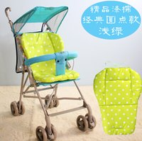 Wholesale General Cotton Mat Stroller Months Cotton Lengthened Baby Stroller Cushion Padding Liner Colorful Thickness Mattress
