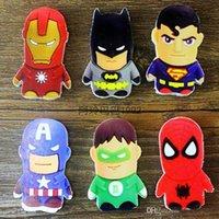 Wholesale 2015 New Hero Alliance Superman Batman Captain America Spiderman Erasers Students Children Learning stationery Correction Supplies