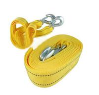 Wholesale Car trailer rope pulling rope traction rope car dragrope trailer belt trailer hook meters order lt no track