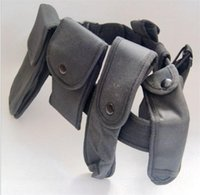 Wholesale Security Modular Equipment System Duty Molded Nylon for Hunting Utility Pouches Holster Load Belt Black