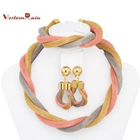 Wholesale Top Quality Dubai African Big Heavy New Colorful Jewelry Set Women Gorgeous Cheap Gold Plated Costume Jewelry