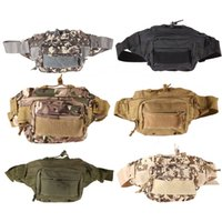 Wholesale Outdoor Military Tactical Waist Pack Shoulder Bag Molle Camping HikingPouch K5BO