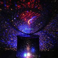 Wholesale Romatic LED Colorful Star Master Sky Starry Night Light Projector Lamp Black EQC087