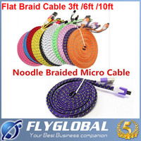 Cheap Noodle Braided Micro USB Best micro usb cable