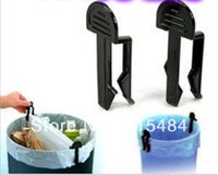 Wholesale Black Trash Clip Junk Folder Trash Bag Holder Garbage Bag Fixator Home Essential X3CM