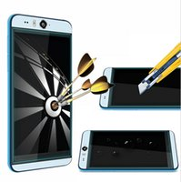 anti eye protectors - Ultra Thin mm D Round Edge H Tempered Glass Screen Protector For HTC Desire Eye Mini without Retail Package by DHL