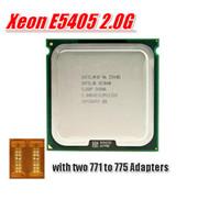 Wholesale Intel Xeon E5405 SLAP2 SLBBP Processor GHz LGA771 MB L2 Cache Quad Core server