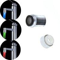 Wholesale LED Faucet Temperature Control Kitchen Faucet Bath Bathroom Accessories torneira cozinha para pia de banheiro grifos cocina