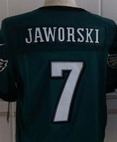 eagles jersey - Cheapest Eagles Men Football Jerseys Ron JAWORSKI Elite Jerseys Custom Name Number Stitched Green Black White