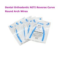 Wholesale Quality Guaranteed Dental Orthodontic NITI Reverse Curve Round Arch Wires all size