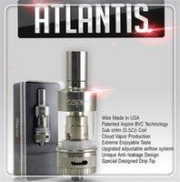 atlantic metal - electronic cigarette Atlantis atomizer Atlantis bvc atomizer airflow control electronic cigarette nautilus bvc vaporizer Atlantic clone cig