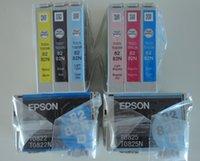 Wholesale N genuine ink cartridge T0821N T0826N ink cartridges For Epson T50 TX700FW TX650 TX800FW R270 R290 RX590 RX610 RX690 printer