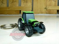 anchor toys - 1 Die Cast Alloy Deutz Tractor Key Ring Scale Model Toy Set Multifunctional Car Key Chain Best Gift Collection
