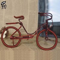 Wholesale 2015 new Creative gifts DIY bike model Wire Cinnamon Christmas gifts toy for kids housing and accommodation toys for children