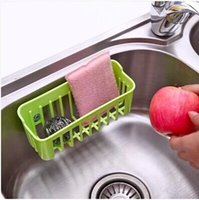 basket ball clothing - Water storage basket candy color drain basket wash towel cloth to clean the ball storage kitchen gadget