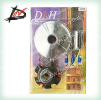 Wholesale Mortorcycle scooter moped ATV modified Clutch Accessories DLH Variator Kit Front Clutch Drive Pulley For GY6 cc cc QMI QMJ