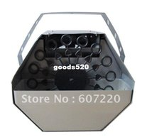 Cheap Free shipping Mini Bubble Machine Remote Contol Stage effect machine in good quality ,hot