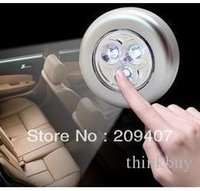 Wholesale Portable Car Trunk Emergency Touch Lamps Decoration LED Lights for Wall Sticky lor freeshipping