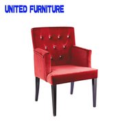 Wholesale Foshan Dining Chair Home Furniture Hotel Dining Armchair Dining Chair With Armrest Upholstered Dining Armchair