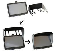 Wholesale 7 quot Car GPS Sunshade GPS Suction holder Mount SUNCAT GPS Navigator Sunshine Shade Clip Pannel