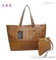 Cheap MCM New 2015 women messenger bag leather handbags designer handbags high quality bolsas clutch Totes 015