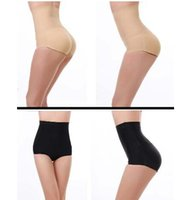 Wholesale DDA3523 Women High Waist Hip Padded Underwear Butt Lift Enhancer Brief Pants Shapewear High Waist Padded Pants