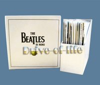 Wholesale Free DHL Shipping The Beatles in Mono Complete Albums Recordings Collection CDs Box Set Boxset Original Recording Remastered