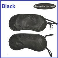 Wholesale Eye Mask Shade Nap Cover Blindfold Sleeping Sleep Masks Travel Rest Black