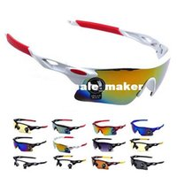 Wholesale 2015 Men Women Cycling Glasses UV400 Mountain Bike Bicycle Motorcycle Glasses Outdoor Sports Windproof Eyewear Sunglasses