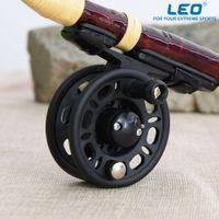 Wholesale 1 Ball Bearing Gear Ratio Left Right Fly Fishing Reel Former Rafting Ice Fishing Reel Vessel Wheel Fishing Gear