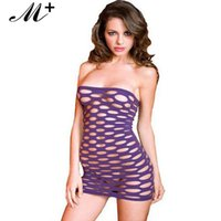 Wholesale New Sexy Women Clothing Hoy Sexy Blak Pink Hollow Out Strapless Mini Dress Sexy lingeries Babydolls LC21148