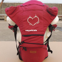 baby product manufacturers - Xayakids new heart shaped pattern cotton baby waist stool Kids products manufacturers red blue coffee Baby stroller Baby stroller