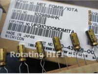 audio grade capacitors - Nic Nichicon Capacitors v10uf x11mm fg For Audio Grade Aluminum Electrolytic Kit Sapphire fine Gold v uf
