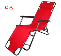 beach deck chairs - Outdoor furniture cm deck chair longer leisure folding beach chair stool sling recliner camping lounge chairs bed
