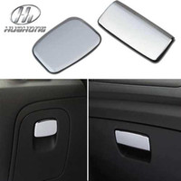 Glovebox handle trimmings - For VAUXHALL Opel Mokka Glovebox handle decoration sticker Exterior interior trim ABS material chrome products