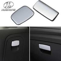 Glovebox handle interior trim - For VAUXHALL Opel Mokka Glovebox handle decoration sticker Exterior interior trim ABS material chrome products
