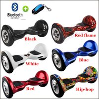 Wholesale Smart Self Balance Scooter Airboard Two Wheel Unicycle Balancing Wheel inch Big Tire Electric Scooter With Remote Key Bluetooth Speaker