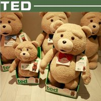 talking toy - 2016 Hot Cheap Movie Ted Plush Talking Ted Bear Toys CM Soft Stuffed Animals High Quality Talking Soft Pkush Ted Bear Dolls